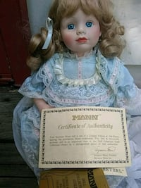 Porcelain Doll Easton, 21601