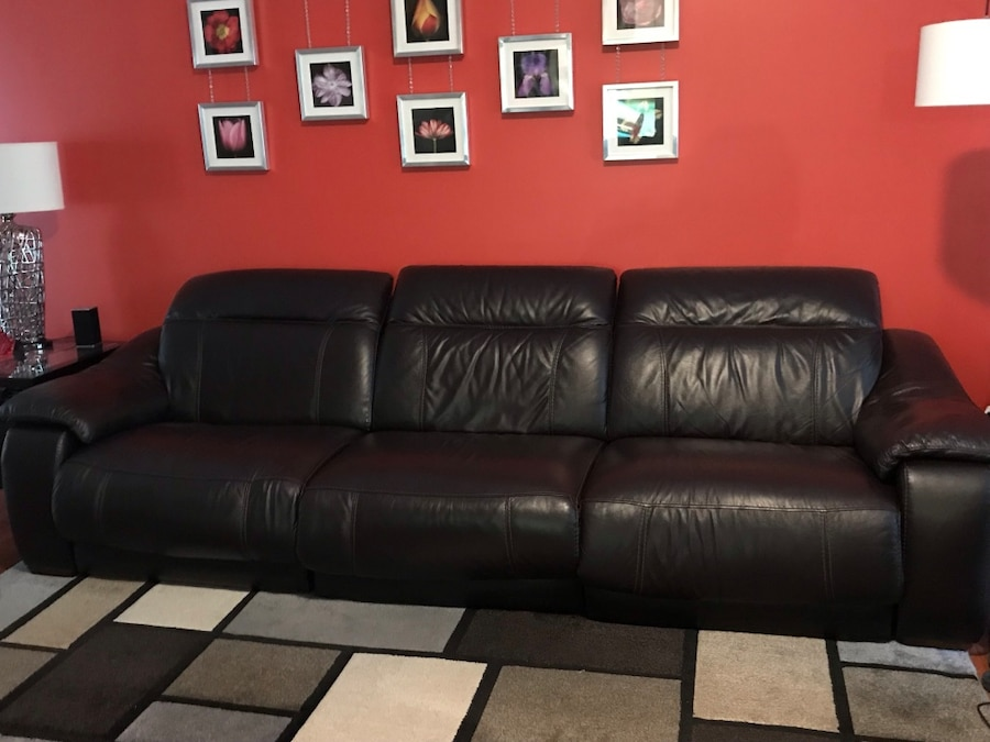 This Couch Is The Bomb   Pics Donu2019t Due Justice! Power Reclining 3 Piece  Sectional Sofa U0026 Power Recliner