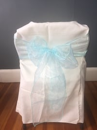 Organza Sashes Baby Blue 12X108 Everett, 02149