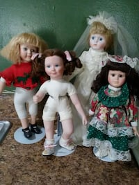 4 porcelain dolls lot Saint Cloud, 34769