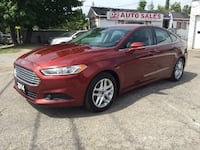 2014 Ford Fusion 1 Owner/Accident Free/Bluetooth/NAVI/Heated Seats Scarborough, ON M1J 3H5, Canada