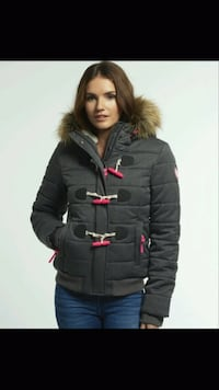 Superdry Marl Toggle Puffer Jacket (S) Calgary, T3K 0G2