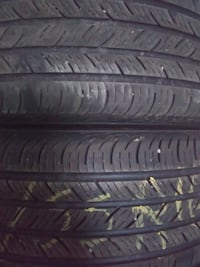 Tires (2)  215/55r16 continental Caledonia, 14423
