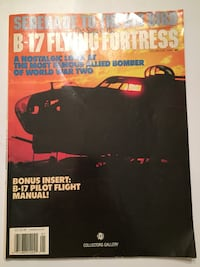 B-17 Flying Fortress Collector's Magazine North Kingstown, 02852