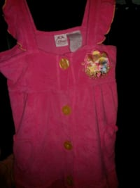 Disney pink shower/swimming coat Zwolle, 71486