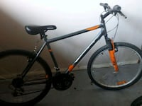 black and red hardtail mountain bike New Westminster, V3M