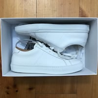 GREATS- Pair of white low-top sneakers New York, 10003