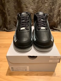 Nike Air Force 1 Skeleton Black Size 11 Toronto, M9W 6V8