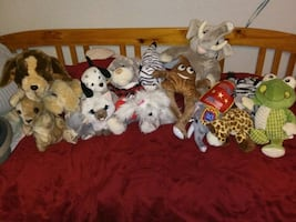 Stuffed Animal Lot