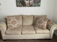Sofa and loveseat coffee tables and tv stand  South Hackensack, 07606