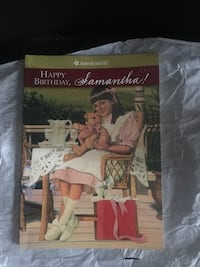 "American girl book "" Happy Birthday , Samantha"" Jessup, 20794"