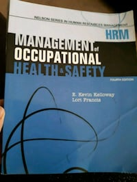 Management of Occupational Health& Saftey London, N6K