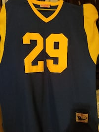 black and yellow 29 jersey Randallstown