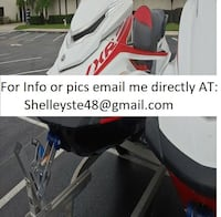 Pair of 2016 Yamaha Wave runners 1st FZR SVHO 2nd VXR Low Hours Clean