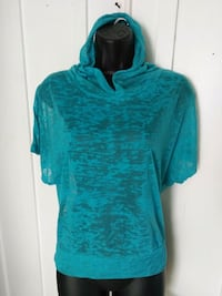 New Rosio Teal Sheer HoodieT's Newport Beach, 92661