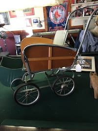 Antique baby carriage wood paneling  Malden, 02148
