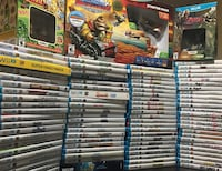 Wii U game collection 12+ brand new and 100+ used in mint condition selling very fast on my site.. will sell you games that you like for a good price. NOT SELLING WHOLE LOT FOR PENNIES. let me know what you want and I can give you a very fair price!! Grab