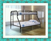 Twin full bunkbed frame free delivery and shipping Gaithersburg