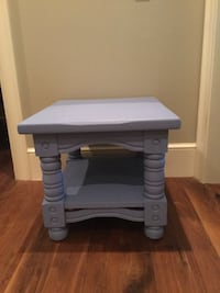 Periwinkle blue Side Table