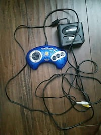 blue and black genesis console with controller Mississauga, L5A 2V6