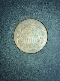 1865 Two Cent Piece Allentown, 18104