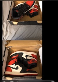 Bred toe retro 1s sz 11.5 8.5/10 condition