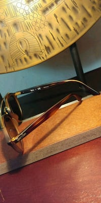 Gold and Brown Framed RayBan Sunglasses Asheville, 28803