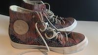 Converse Chuck Taylor All Star Multi color Panel women shoes size 9 Fontana, 92336