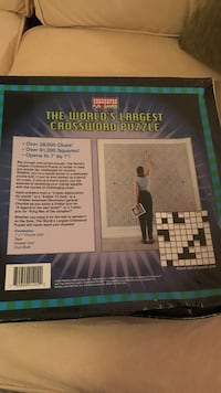The World's largest Crossword puzzle Suffolk, 23434