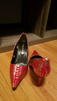 Red and gold heels Edmonton, T5W