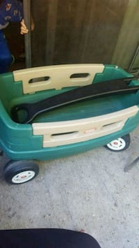 green and white Little Tikes pull wagon Lloydminster, S9V 0S6