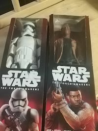 Star Wars The Force Awakens action figure boxes