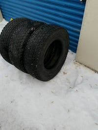 """265/75 R16 tires """" barely used"""""""