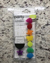 True Party Wine Glass Markers