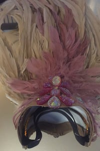 *ON HOLD*- Caribbean style  Dancing Hat Good condition- needs some TLC Toronto, M6K 2E5