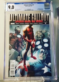 Ultimate Fallout #4 CGC 9.0 NM- 1st appearance of Miles Morales Toronto, ON M4W 1A9, Canada