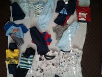 Baby boy clothes great condition