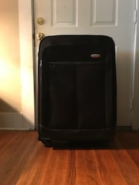 Black Samsonite luggage 4 wheels  Baton Rouge, 70806