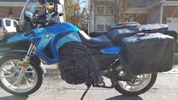 2009 BMW F650GS (800cc twin)