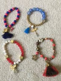 Bracelets; $10 each Fairfax Station, 22039