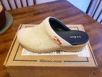 paired white and blue slip-on shoe with box 113 mi
