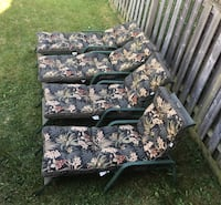 Patio Loungers with cushions - great deal Mississauga, L5W 1S2