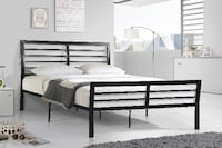 Brand New Solid Strong Metal Bed Frame with Spring Mattress and Free Delivery in GTA TORONTO