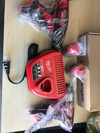 Milwaukee tools. M12 with charger and 2 batteries   Montebello, 90640