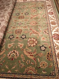 Brand new wool carpet size 8x11 nice rug