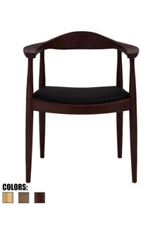 Beautiful Chairs- solid wood with PU leather cushion