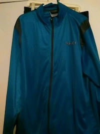 blue and black Adidas zip-up jacket Farmington, 26571