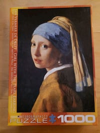 Girl With The Pearl Earring puzzle  Vancouver, V6B 6P6