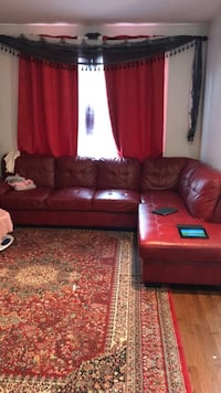 Red Sectional Sofa MUST GO 714 km