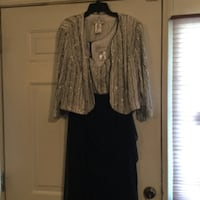 Formal Gown with jacket Leeds